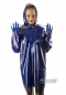 Preview: Two-coloured reversible latex jacket,Rubbermagic,rubber store Dresden Germany,latex rain jacket,Latex coat