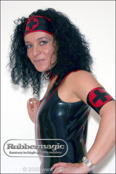 Nurse latex armlet