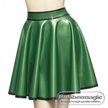 Latex plate skirt approx. 0,35 mm