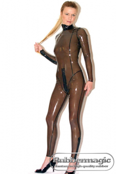 "Latex catsuit ""Princess"""