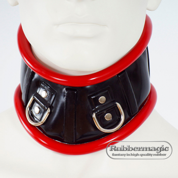 Latex Neck Corset,Rubbermagic,latex neck band,Latex clothing,rubber store,latex accessories