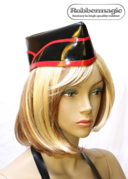 Latex uniform cap
