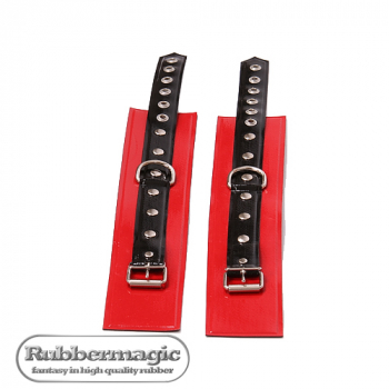 Pair of latex ankle restraints