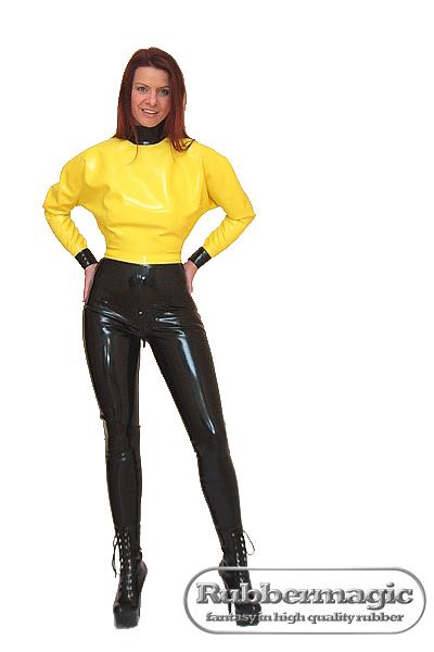 Kleidung latex unter normaler Unisex PVC