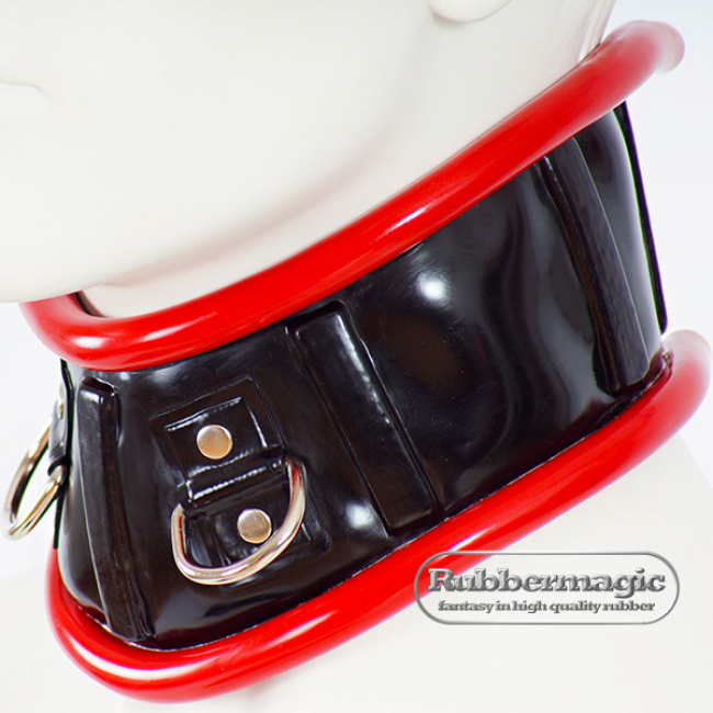 Latex Neck Corset,Rubbermagic,latex neck band,Latex clothing,rubber store,latex accessories Dresden