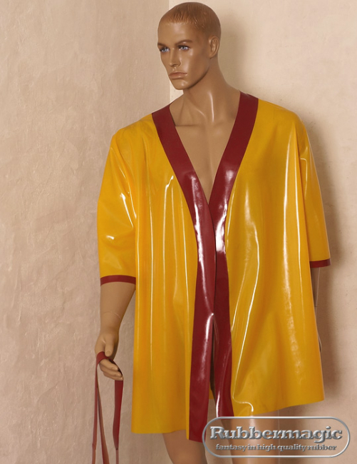 latex kimono,latex cape,latex coat,rubbermagic, latex shop Dresden, Latex shop Germany