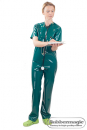 Latex-OP-Hose,Latex-Klinikbekleidung,Arzthose,Rubbermagic,Latex-Klinik