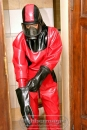 "Latex-Schutzanzug / Latex Hazmat Suit ""Elmi"""